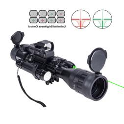 Hiram Rifle Scope 4-16x50 EG w. Holographic 4 Reticle HD Sig