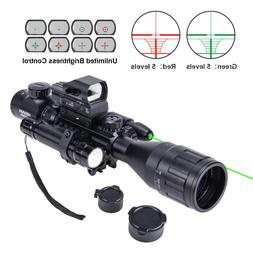 Rifle Scope 4-16x50 EG w.Holographic 4 Reticle HD Sight & Gr