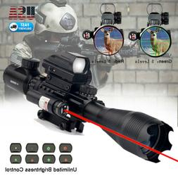 Rifle Scope 4-16x50 Illuminated Reticle w/ Red Green Dot Sig