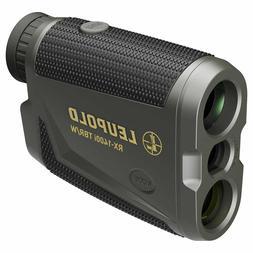 Leupold RX-1400i TBR Rangefinder with DNA Black/Gray TOLED 1