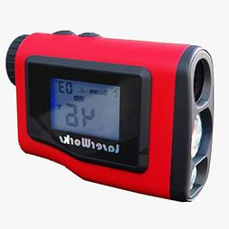 LaserWorks Slope Golf Rangefinder 600 Yards Digital Laser Ra