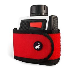 NEW Monument Golf Large Stick It Magnetic Range Finder Red S