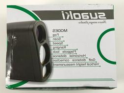 SUAOKI Golf Laser Rangefinder with Fog,Horizontal Distance,