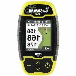 Izzo Golf Swami 5000 Black/Yellow GPS/Range Finders New