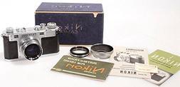 Nikon S Sync Rangefinder Camera #6101407 w/50mm 1.4 #325406,