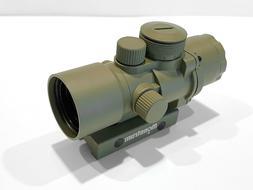 Monstrum Tactical S330P 3X Prism Scope with Flip Up Lens Cov
