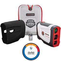 Bushnell Tour V4 Shift Patriot Pack Golf Laser Rangefinder +
