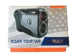 Bushnell Tour V5 Golf Laser Rangefinder Patriot Pack   BRAND