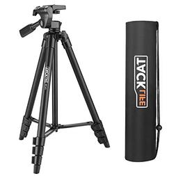Tripod, 55-Inch Camera Tripod, Lightweight Aluminum Travel T