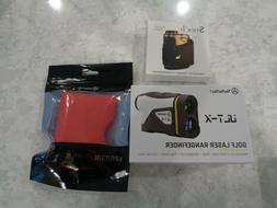 TecTecTec ULT-X Golf Laser Rangefinder w/1,000 Yd Range & Sl