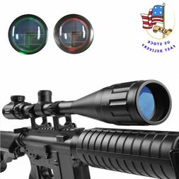 US 6-24X50AOEG Green/Red Mil Dot Reticle/Rangefinder Riflesc