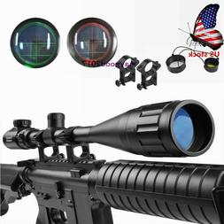 US Riflescope 6-24X50AOEG Green/Red Mil Dot Reticle/Rangefin