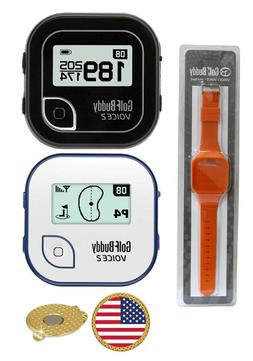 GolfBuddy Voice 2 Golf GPS/Rangefinder+Wrist Band+Magnetic H