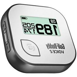 GolfBuddy Voice 2 Talking GPS Golf Rangefinder, Gray