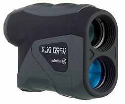 TecTecTec VPRODLX Black Golf Laser Rangefinder - Waterproof