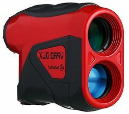 TecTecTec VPRODLX Red Golf Laser Rangefinder - Waterproof De