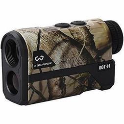 Wosports Hunting Range Finder, Laser Rangefinders Upgraded B