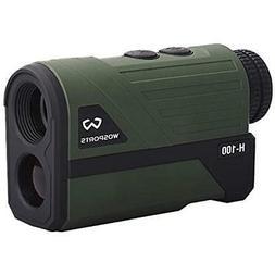 Wosports Laser Rangefinders Hunting Finder, Upgraded Battery