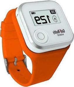 Wristband Golf Buddy GPS Rangefinder Voice Watch Range Finde